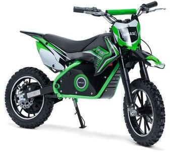 Impulse Electric Dirt Bike 500 W, Vihreä