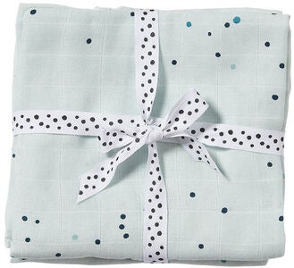 Done By Deer Musliiniliinat Dreamy Dots 2-pack, Blue