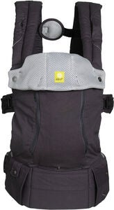 Lillebaby Complete All Seasons Kantoreppu, Charcoal/Silver