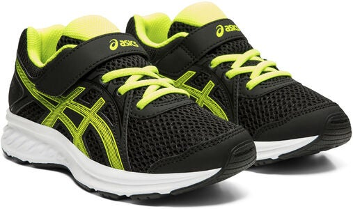 Asics Jolt 2 PS Lenkkarit, Black/Safety Yellow