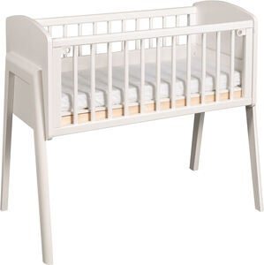 Troll Bedside Crib Come To Me, Valkoinen