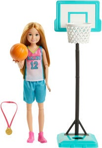 Barbie Dreamhouse Adventures Nukke Stacie Basketball