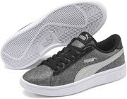 Puma Smash V2 Glitz Glam Jr Tennarit, Black/Silver