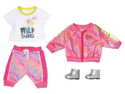Baby Born Deluxe Trendy Pink Set 43cm