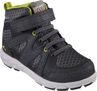 Viking Tolga Mid WP Sneaker, Charcoal/Black