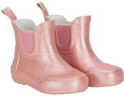 CeLaVi Wellies Short Glitter Kumisaappaat, Misty Rose