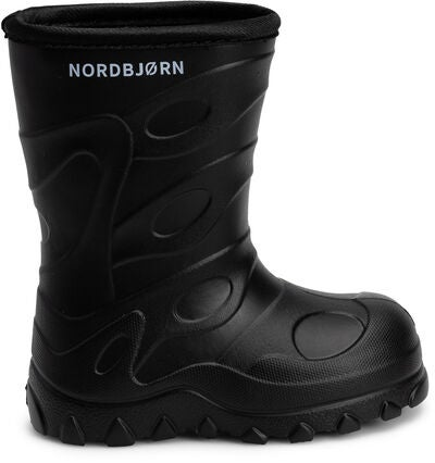Nordbjørn Blizz Light Kumisaappaat, Solid Black