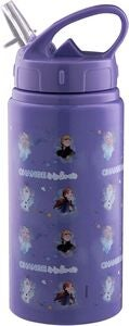 Disney Frozen Juomapullo Alumiini 500 ml, Liila