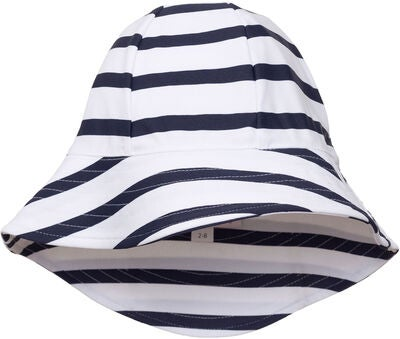 Petit Crabe UV-Hattu, White/Blue