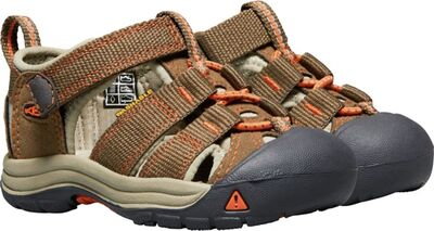 KEEN Newport H2 Toddlers Sandaalit, Dark Earth/Spicy Orange