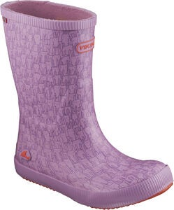 Viking Classic Indie Rabbits Kumisaappaat, Lavender/Multi