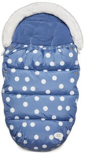 Petite Chérie Big Dots Lämpöpussi, Country Blue
