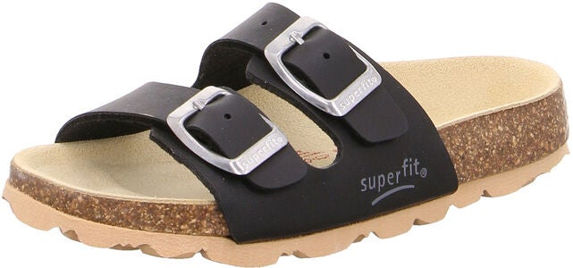 Superfit Fussbett Sandaalit, Black