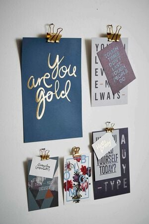 I Love My Type Juliste You Are Gold, Vaaleanpunainen