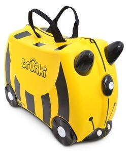 Trunki Bernhard The Bee Matkalaukku 18L, Yellow