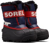 Sorel Children's Snow Commander Talvisaappaat, Nocturnal/Sail Red