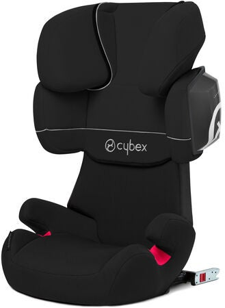 Cybex Solution X2-Fix Silver Line Turvavyöistuin, Pure black