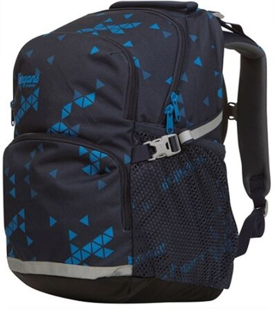 Bergans Reppu 2GO 24L, Midnight Blue Triangle