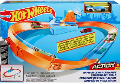 Hot Wheels Leikkisetti Rapid Raceway Champion