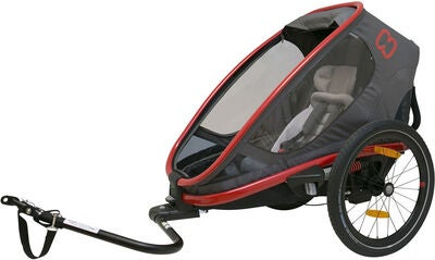 Hamax Outback One 2 in 1 Urheilupaketti, Red/Charcoal