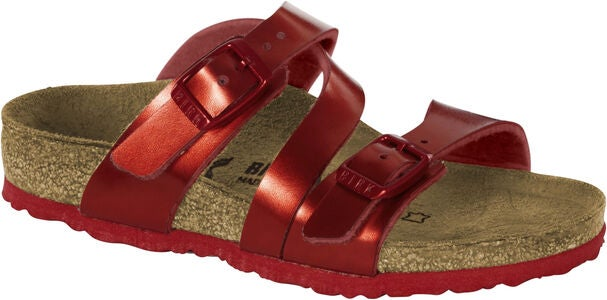 Birkenstock Salina Kids Sandaalit, Metallic Red