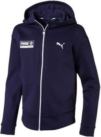 Puma Alpha Graphic Sweat Takki, Peacoat