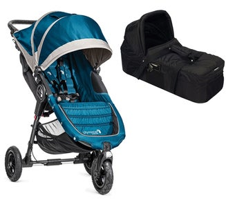 Baby Jogger City Mini GT Yhdistelmävaunut, Steel Blue