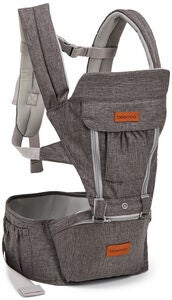 Beemoo Carry Comfort Adjust Kantoreppu, Grey