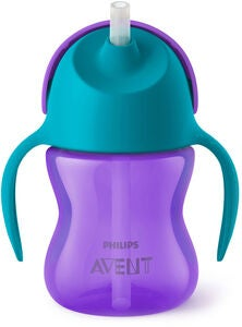 Philips Avent Pillimuki Kahvalla 200ml, Violetti/Turkoosi