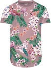 Jack & Jones Birds T-Paita, Silver Pink
