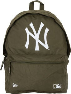 New Era MLB NYY Reppu 16L, New Olive/White