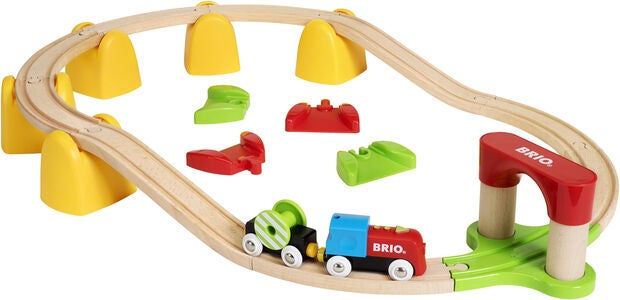 BRIO 33710 My First Paristojunasetti