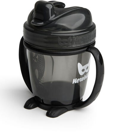 Herobility HeroSippy Nokkamuki 140 ml, Black