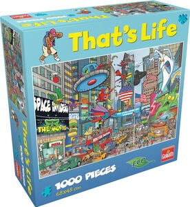 Goliath Games Palapeli That's Life - New York 1000