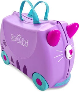 Trunki Cassie the Cat Matkalaukku 18L, Purple