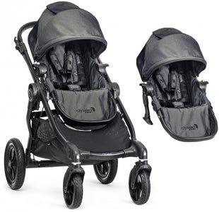 Baby Jogger City Select Sisarusrattaat, Charcoal