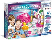 Clementoni Science & Play Perfumes & Cosmetics Tiedesetti