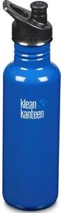 Klean Kanteen Classic Sports Cap Juomapullo  800 ml, Costal Waters