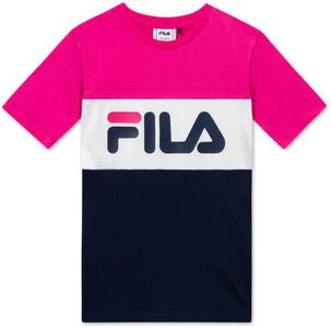 FILA Kids Classic Day Blocked T-Paita, Pink