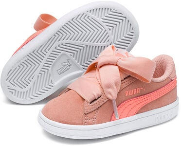Puma Smash V2 Ribbon AC PS Kengät, Pink