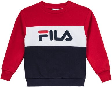 FILA Night Blocked Crew Collegepaita, Black Iris
