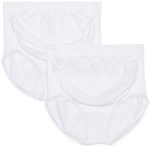 Milki Hipsterit Seamless 2-packs, White