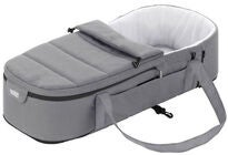 Britax GO BIG Kantokassi Soft Carrycot, Steel Grey