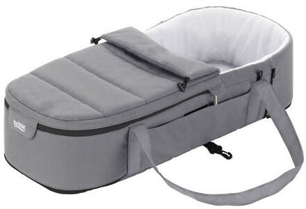 Britax Römer GO BIG Kantokassi Soft Carrycot, Steel Grey