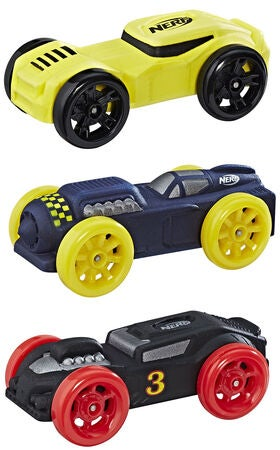 Nerf Nitro Foam Car 3-pack