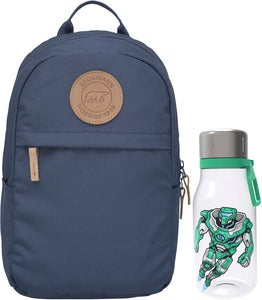 Beckmann Reppu Mini Urban 10L + Juomapullo, Dusty Blue