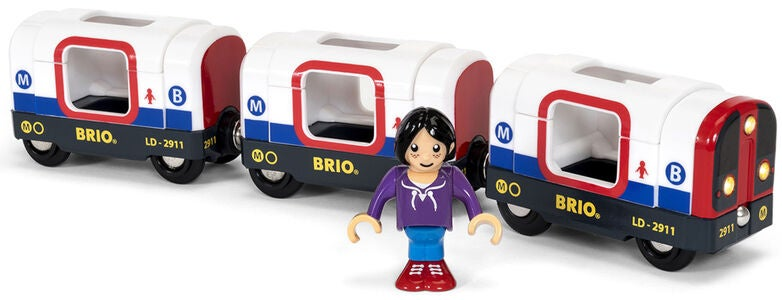 BRIO World 33867 Metrojuna
