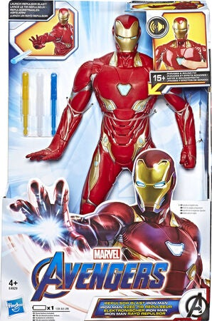 Marvel Avengers Repulsor Blast Actionhahmo Iron Man