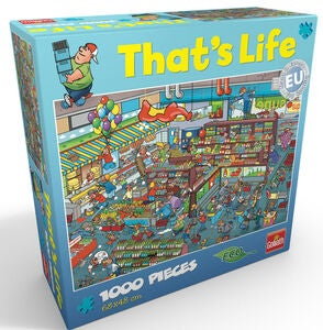 Goliath Games Palapeli That's Life - Supermarket 1000