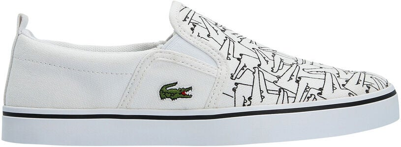 Lacoste Gazon 318 Kengät, White/Black